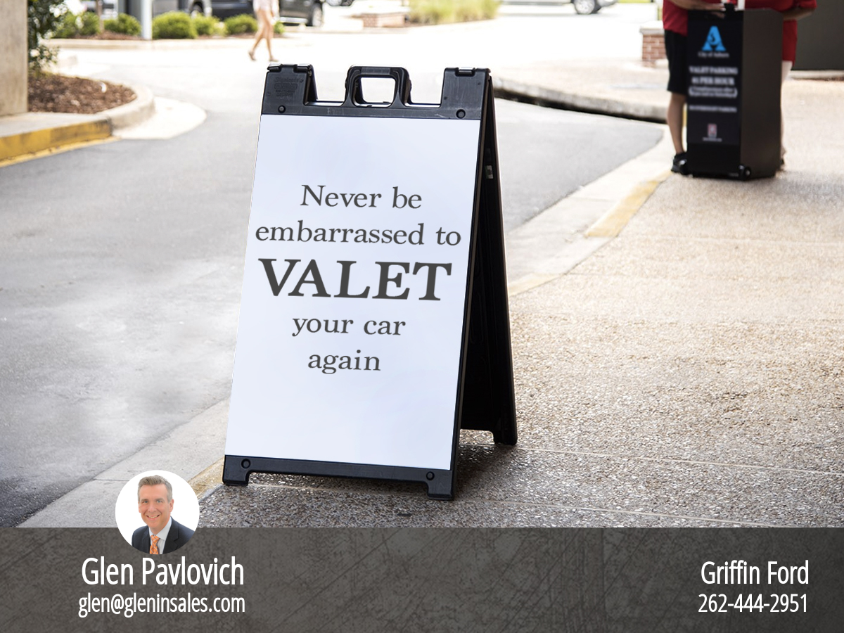 Never Be Embarrassed To Valet Your Car