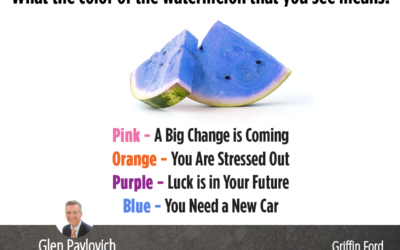 What Color Is The Watermelon?