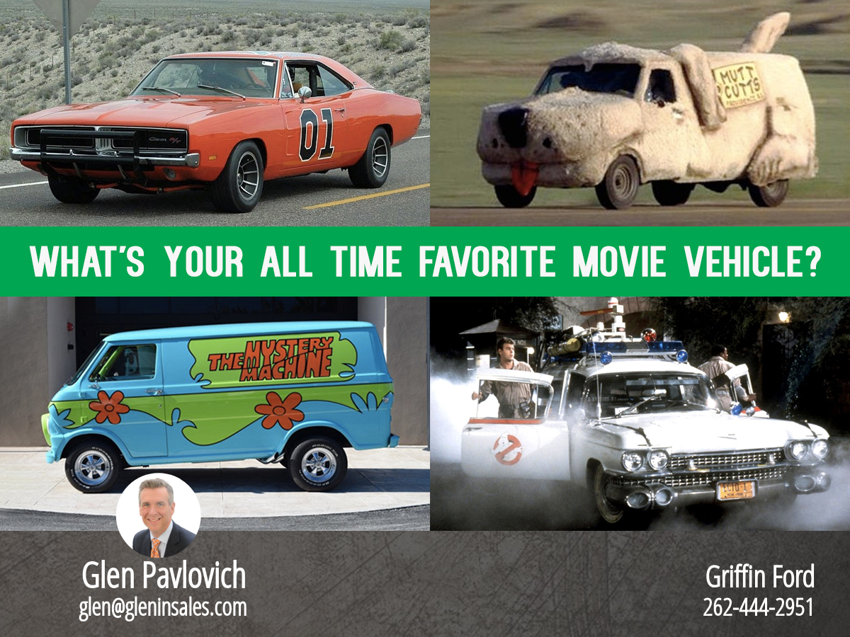 What Is Your Favorite Movie Vehicle Of All Time?